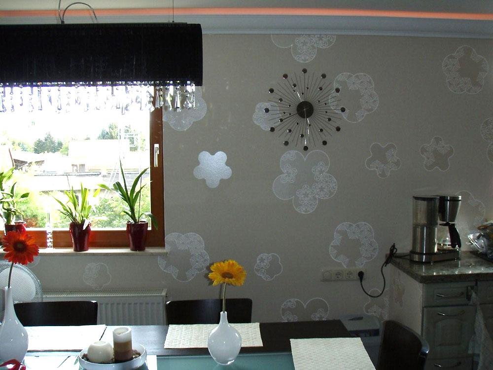 Heimwerker renovieren tapeten selber tapezieren for Esszimmer tapete