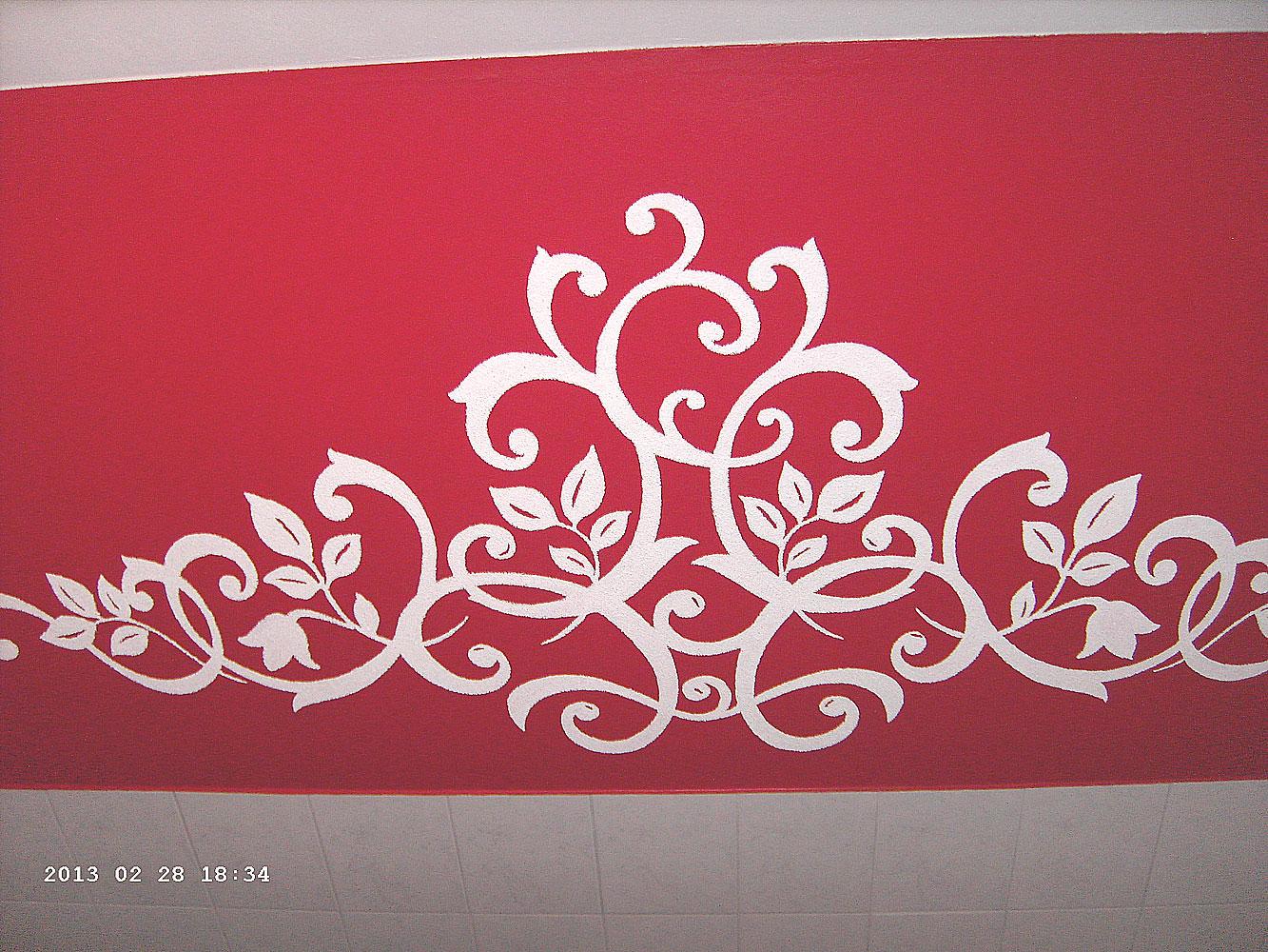 Heimwerker renovieren tapeten selber tapezieren for Rote tapeten wandgestaltung