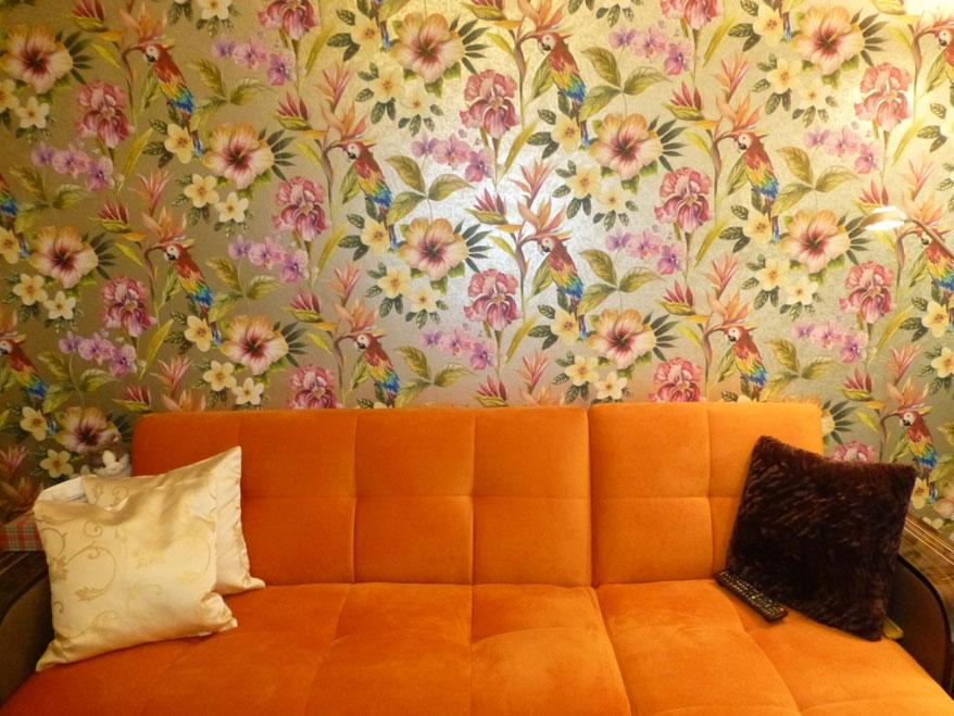 heimwerker renovieren - tapeten selber tapezieren - Ideen Zum Renovieren Wohnzimmer
