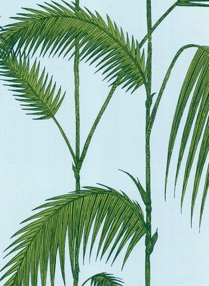 Palmen tapete asiatisch einrichten und wohnen mit - Tapete asiatisch ...