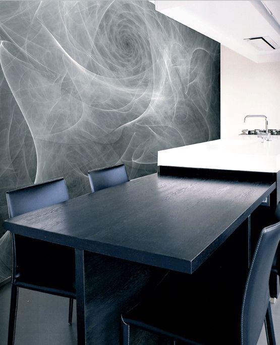 Erstaunlich Fototapete Grau Weiß Online Kaufen
