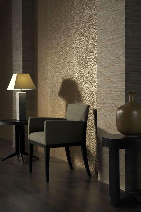 luxus grastapete grastapeten mit metall glanz beschichtung. Black Bedroom Furniture Sets. Home Design Ideas