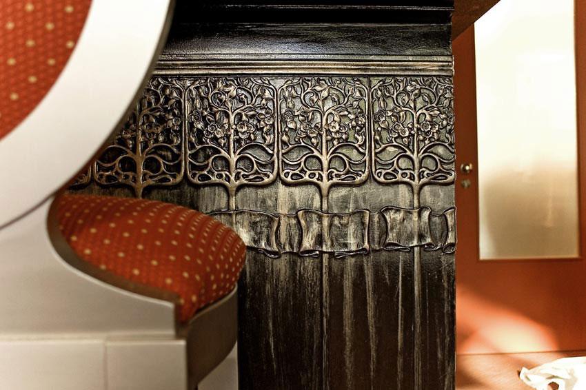 Tapeten Borte Jugendstil : Lincrusta Art Nouveau