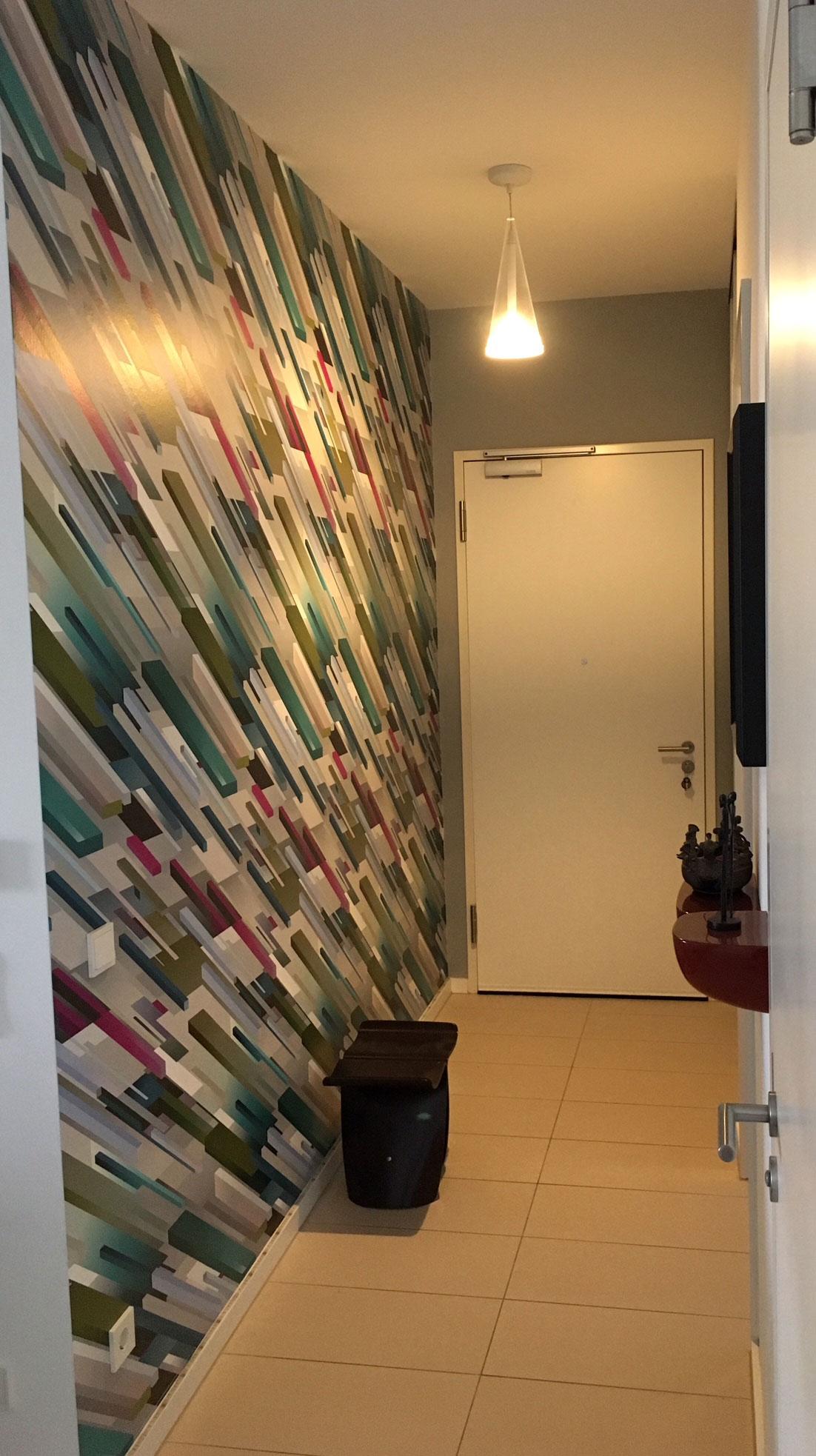 heimwerker renovieren - tapeten selber tapezieren