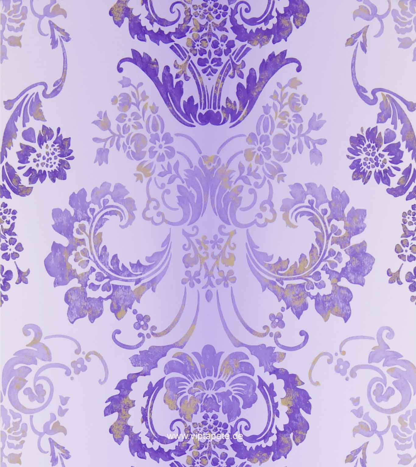 Gro muster tapeten lila bilder die besten wohnideen for Tapeten in lila