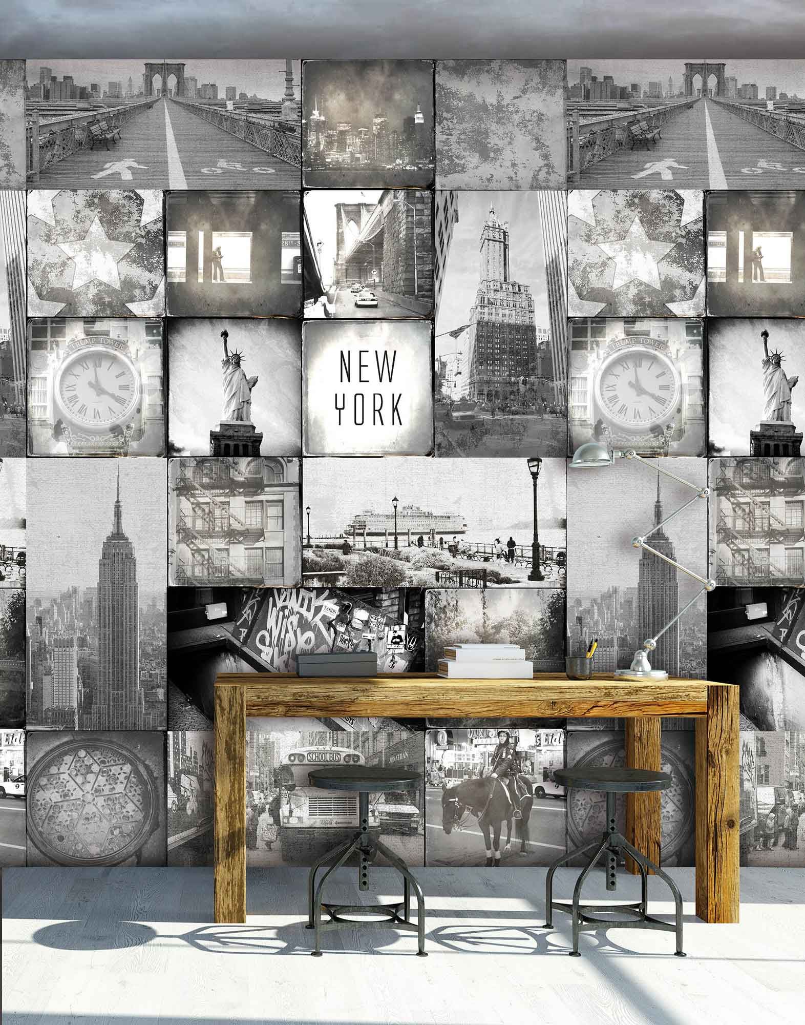 fototapete new york online kaufen. Black Bedroom Furniture Sets. Home Design Ideas
