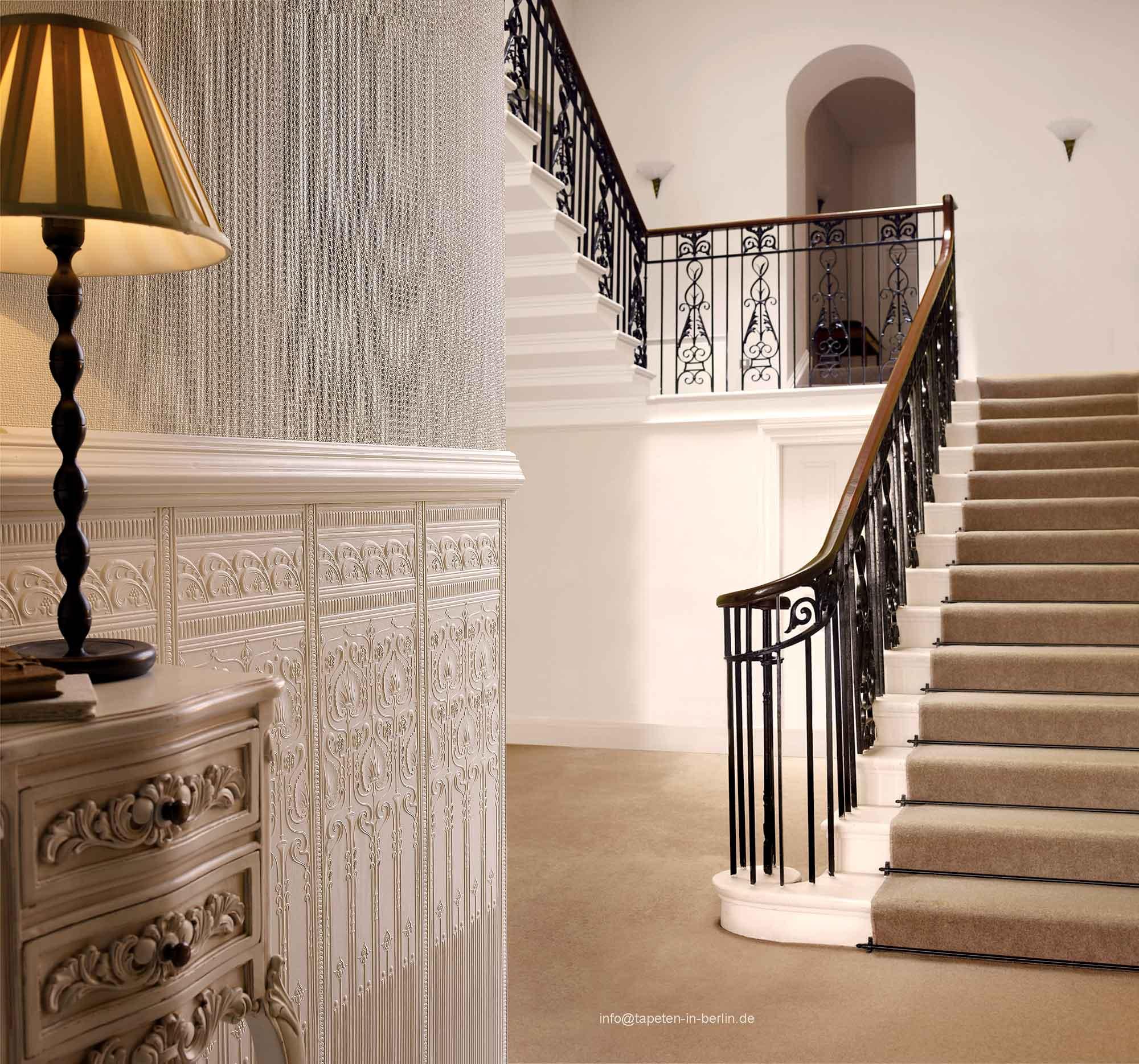 lincrusta tapete und stil borten in berlin und online kaufen. Black Bedroom Furniture Sets. Home Design Ideas