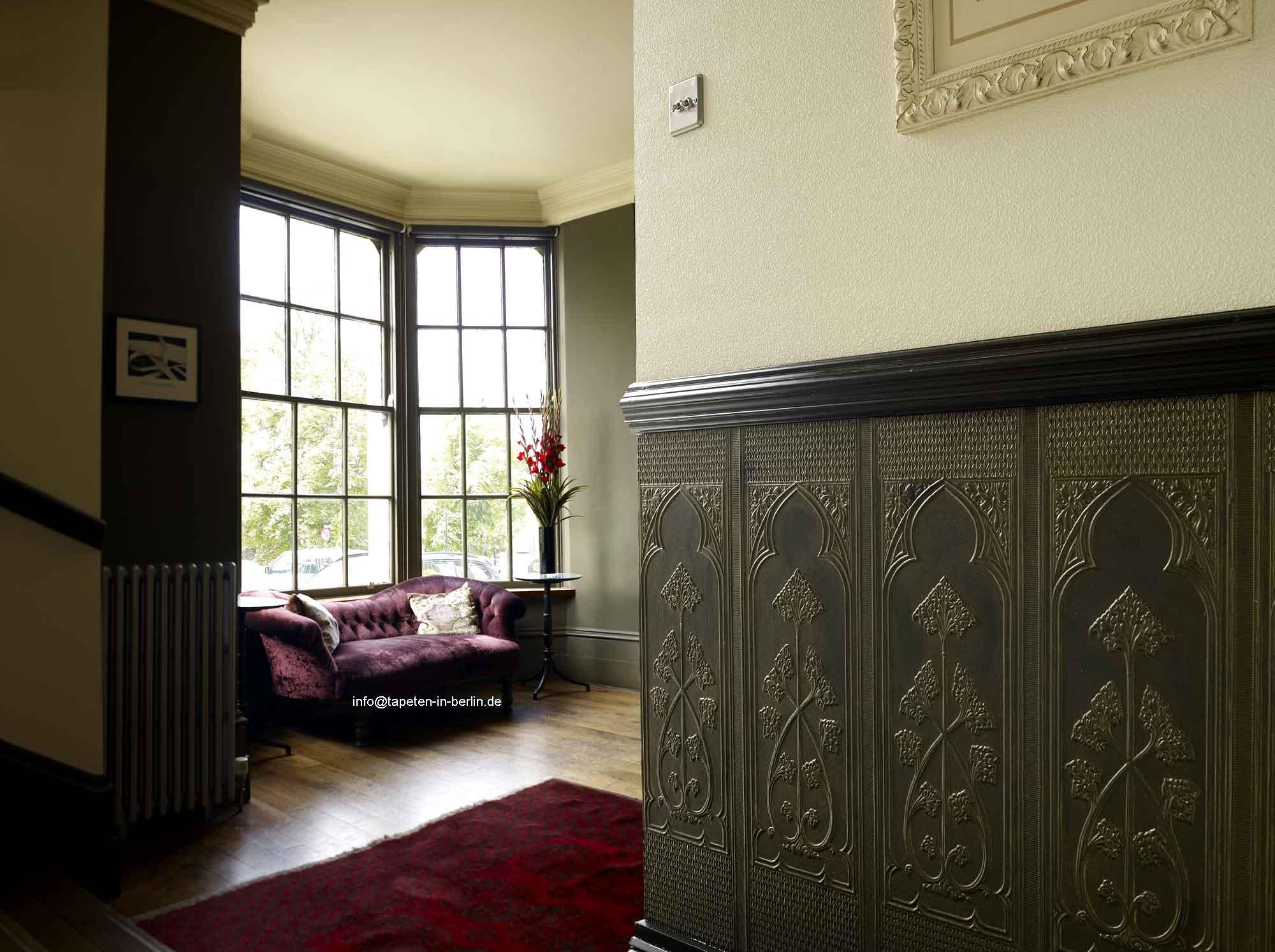Tapete Treppenhaus lincrusta tapete und stil borten in berlin und kaufen