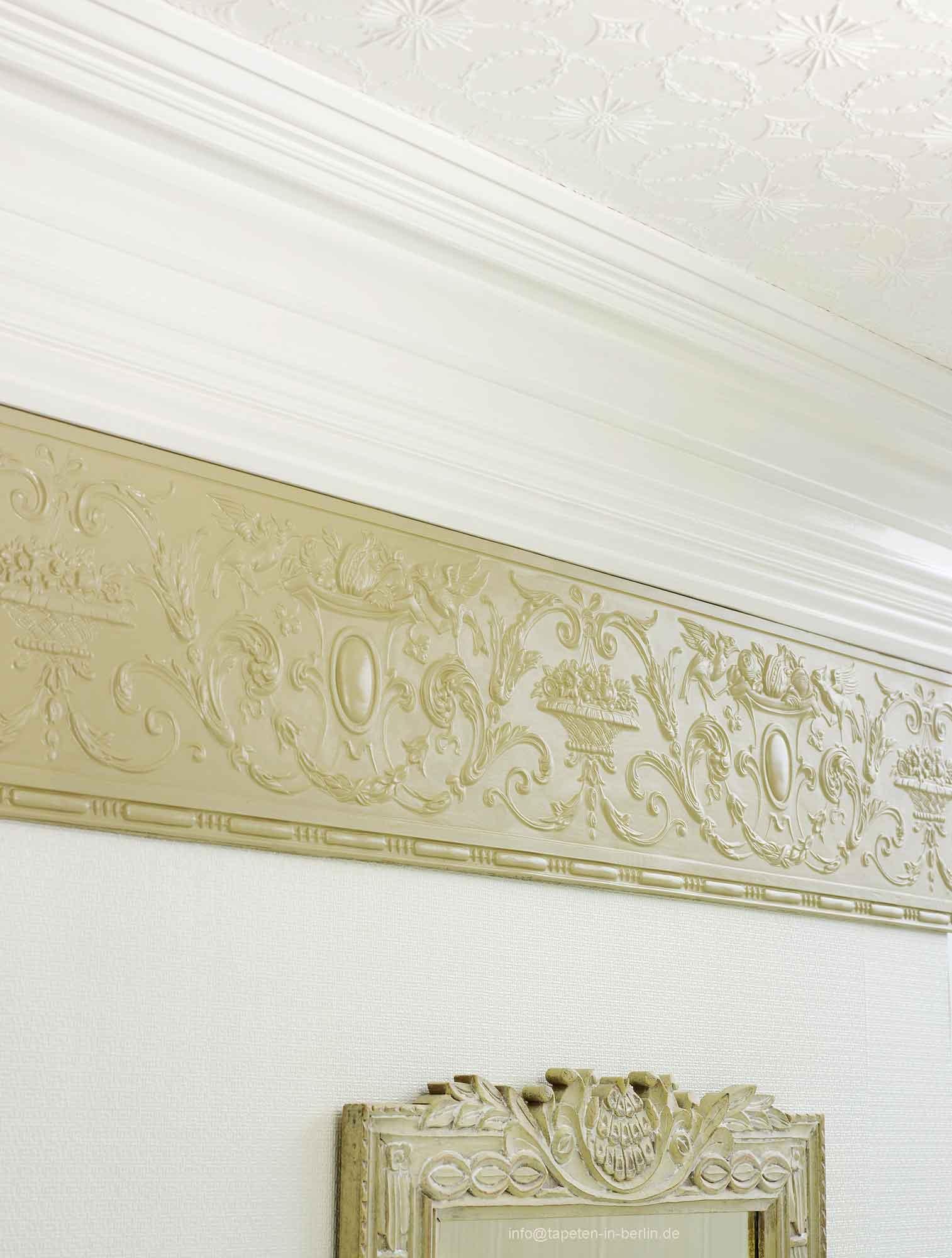 Lincrusta Tapete images of wallpaper border fan