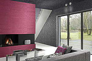 echte steintapeten omexco mineral tapete in steinoptik. Black Bedroom Furniture Sets. Home Design Ideas
